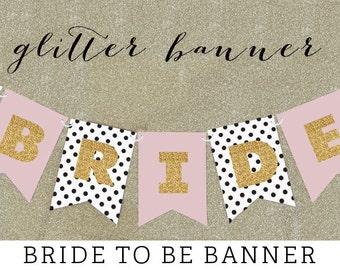 Shabby Chic Wedding Banner - Shabby Chic Bridal Shower Banner Banner - Rustic Wedding Shower Decor Shabby Chic Bridal Shower Decor (EB3062)