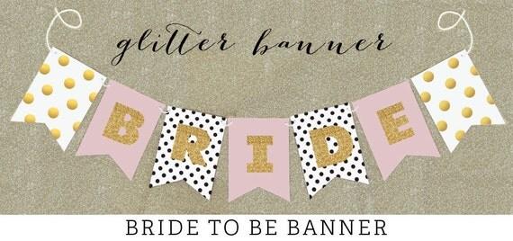 Shabby Chic Wedding Banner Shabby Chic Bridal Shower Banner