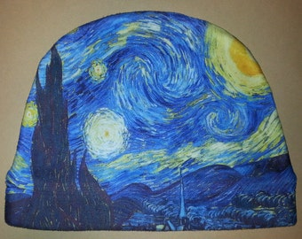 Starry Night Fleece Beanie