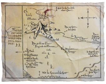 PROP Thorin's Map, The Hobbit