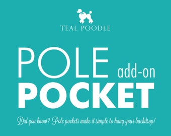 Pole Pocket Add-On For Backdrop