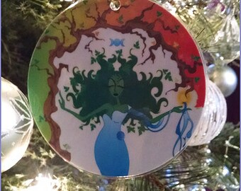 Gaea Laminated Ornament (2014)