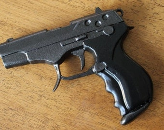 DIY 3D printed kit: Sebura M5 pistol from Ghost in the Shell and Appleseed