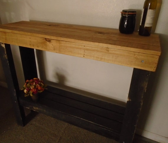 Narrow Wood Accent Media Console Table/bar Stands By
