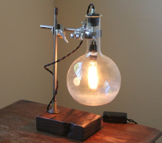 industrial desk lamp science lamp steampunk table lamp cool