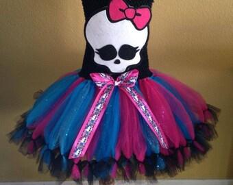 Monster high tutu dress