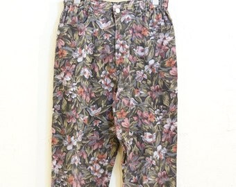 Vintage Floral Pants (014)