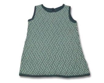 Wool Jersey dress girl dress