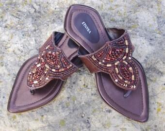 Indian Shoes Womens Shoes Leather Shoes Shoes Women Handmade Shoes Ethnic Shoes Summer Shoes Flat Shoes Flip Flops Fairy Shoes Boho Sandals