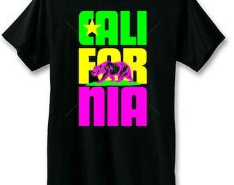 California Bear Neon T-Shirt | U.S. Custom Ink