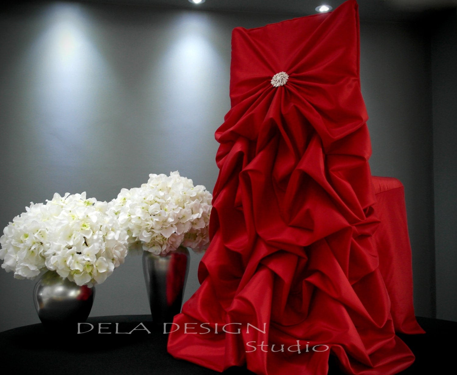 Christmas chair back covers -  Zoom