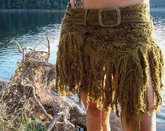 wild goddess skirt, festival, bohemian warrior girl, festival style, goa