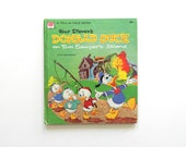 Donald Duck on Tom Sawyer's Island - Walt Disney and Whitman Tell-a-Tale Book - vintage children's book - 1960