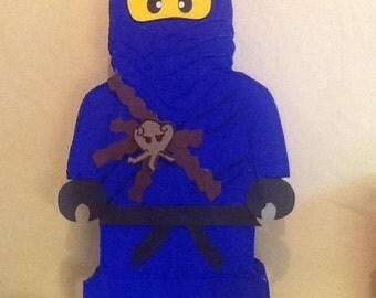 Ninjago piñata, ninja go birthday party, Ninja go birthday party,  ninja go pinata