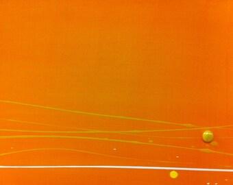 16 x 20 inch abstract acrylic art
