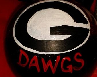 Georgia Bulldogs Ornament