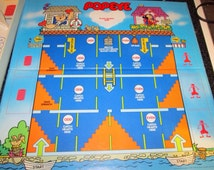 Vintage POPEYE Board Game, Parker Brothers Game, 1983. Good Used Vintage Condition