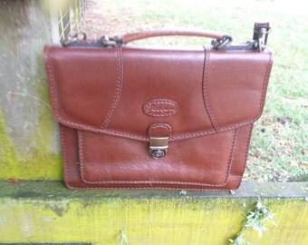 Fascino leather handbag 1980's