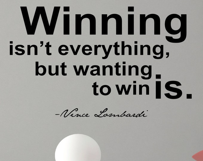 essays on winning isn t everything but wanting to win is