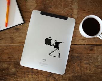 Banksy Rioter iPad Decal