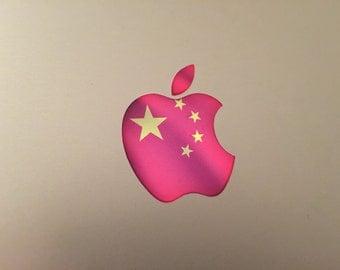 China / Chinese Flag MacBook Decal
