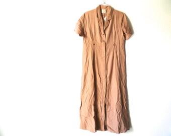 Vintage 90s Dress, Long Maxi Dress, Soji New Old Stock, Size Medium
