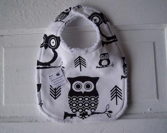 Dear Owl Baby Bib !  FREE SHIPPING !!!!!