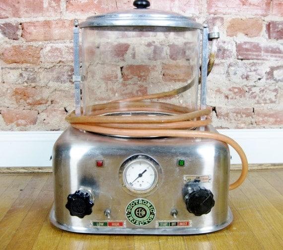 antique embalming machine