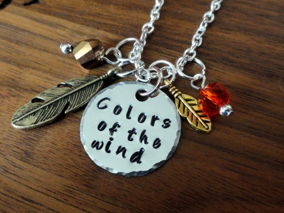 Colors Of The Wind Necklace-Pocahontas Inspired