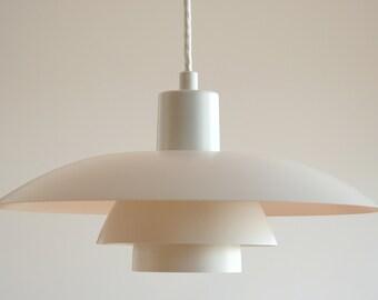 LOUIS POULSEN PH 4/3 Poul Henningsen Original PH4 Danish Design Masterpiece Denmark Ceiling Lamp Pendel Midcentury Modern