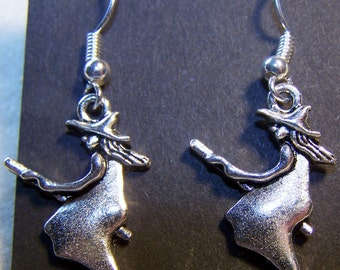 Witches in Flight Earrings