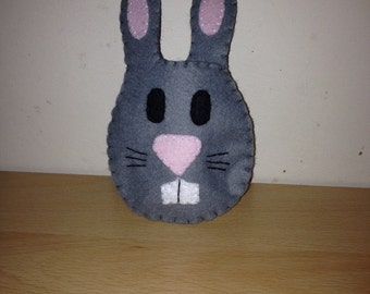 Easter rabbit egg pouch