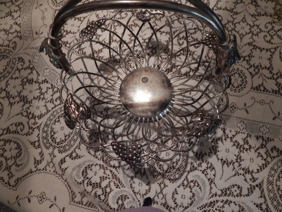 Godinger Silver Art Co Basket : Godinger silver art co plate basket