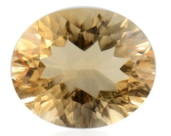 Brazilian Citrine Oval Cut Loose Gemstone 1A Quality 12x10mm TGW 4.50 cts.