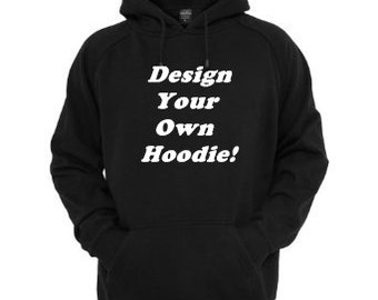 Custom Hoodie, Personalized hoodie,  Can do business hoodies, wrestling, sports team hoodies, and more, custom hooded sweatshirt