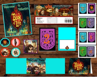 Book of life Party Package