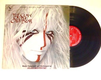 25% OFF Vinyl Record Clan of the Cave Bear Soundtrack Alan Silvestri 1986 LP Album Daryl Hannah