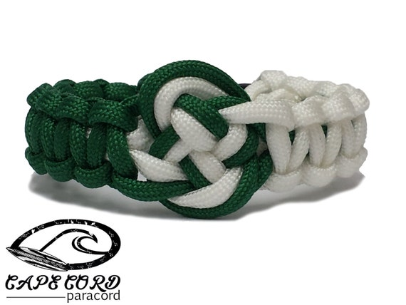 items similar to st pattys day bracelet paracord