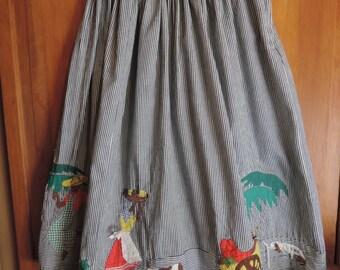 SPECTACULAR  Cotton Skirt