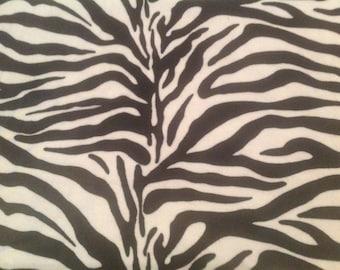 Tawny Scrawny Lion Blanket, Zebra Minky Blanket, Baby Blanket, Lightweight Blanket