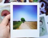 MAKE to ORDER: Polaroid format set of paper greetings cards with your own photo, minimum set of 10