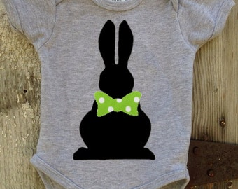 Easter Bunny Bodysuit For Baby Boy