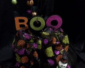 Halloween craft pumpkin