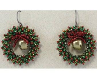 Mini-Wreath Earrings Kit