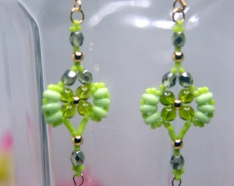 Flutter earrings.