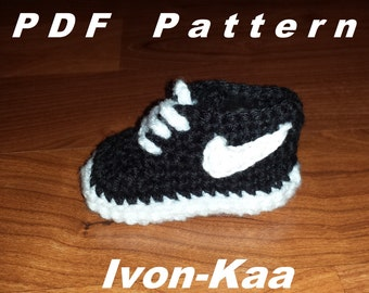 Handmade By Lalas Custom Creations Shoes Nike Cortez Crochet Baby