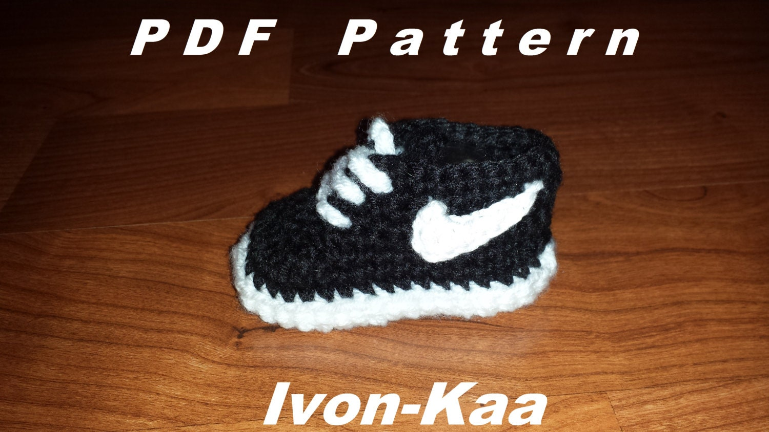 Crochet Baby Nike Shoes Free Pattern