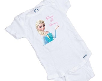 Princess in Train GREAT onesie or Tee Shirt  Perfect Shower Gift