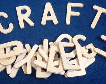Wooden Letters complete alphabet