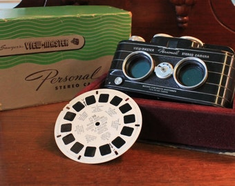 Vintage View Master Stereo Camera,  by Sawyer  In the box
